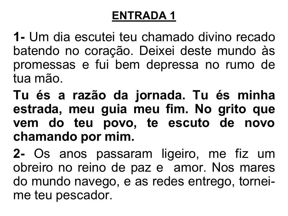 HINO DE LOUVOR 2ª OPÇÃO Ref.: Glória, glória, glória aleluia.