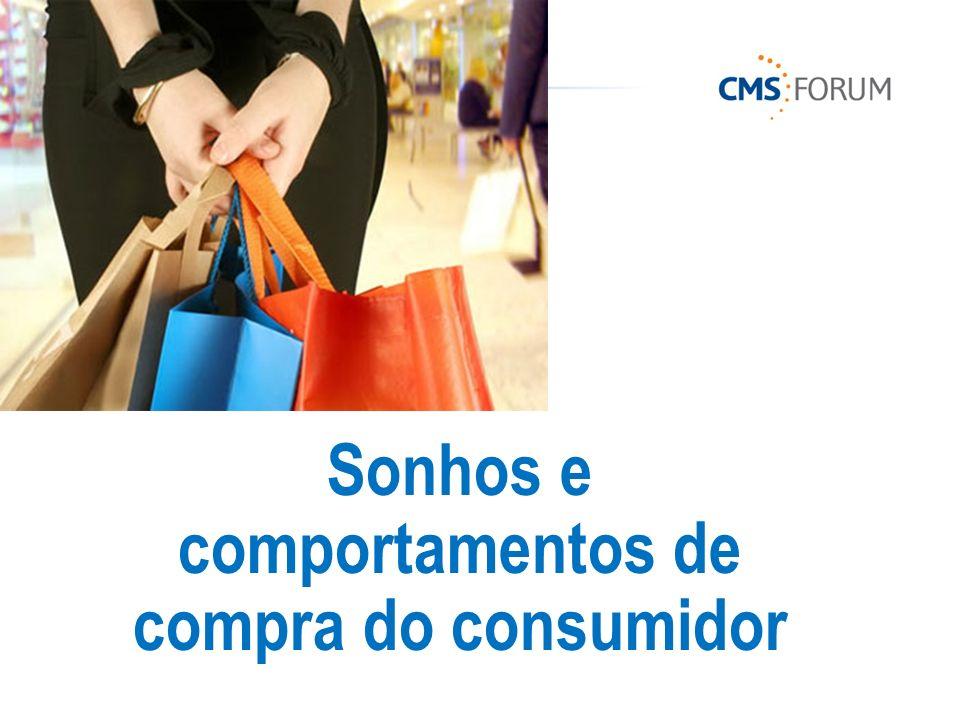 Sonhos e comportamentos de compra do consumidor