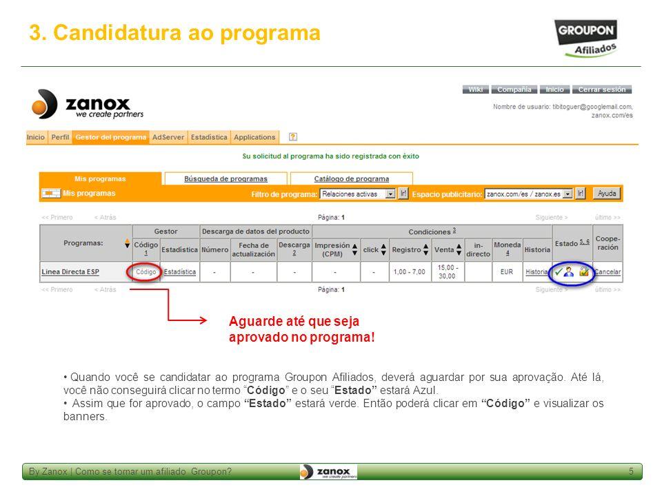 By Zanox | Como se tornar um afiliado Groupon?6 4.