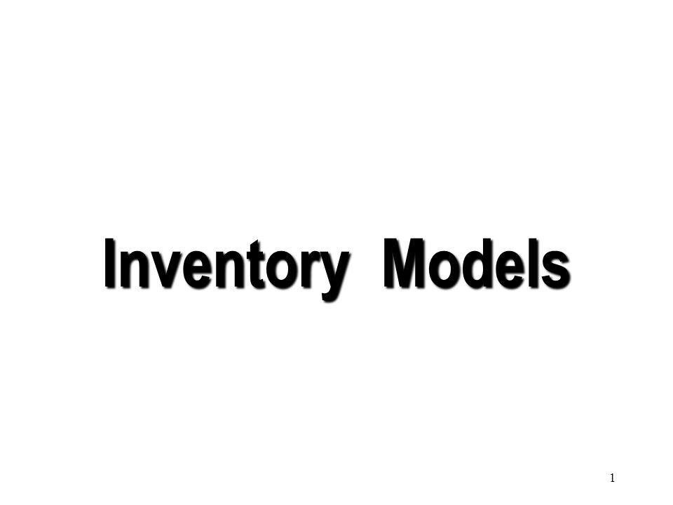 101 Under this system the inventory position for each item is observed periodically.