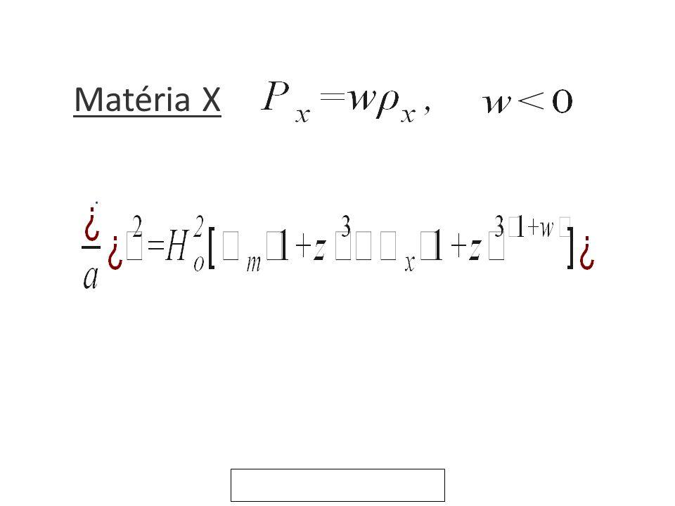 Matéria X.