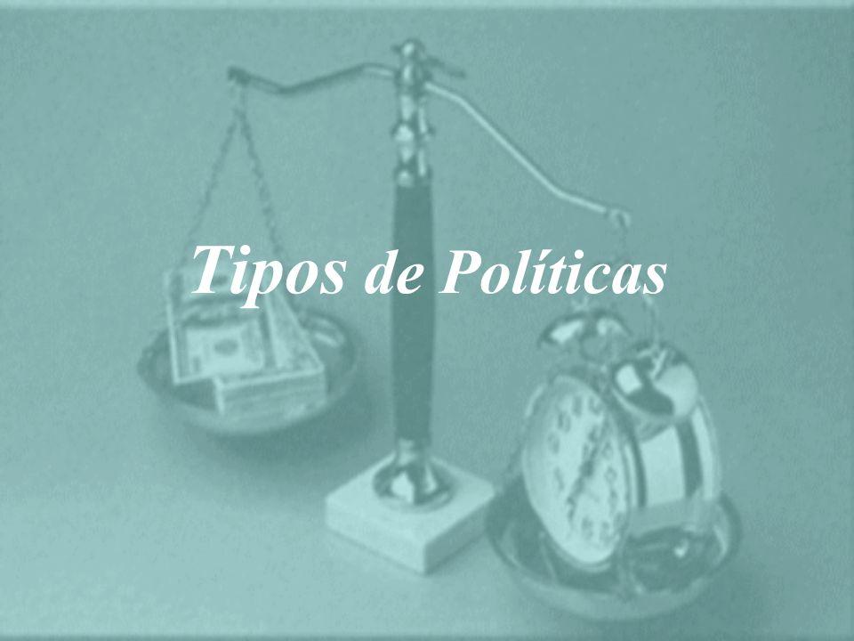 Tipos de Políticas