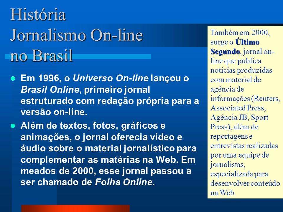 Dessa forma, o JORNAL DO BRASIL anunciava oficialmente sua entrada no World Wide Web e tornava seu conteúdo acessível para mais de 30 milhões de pesso