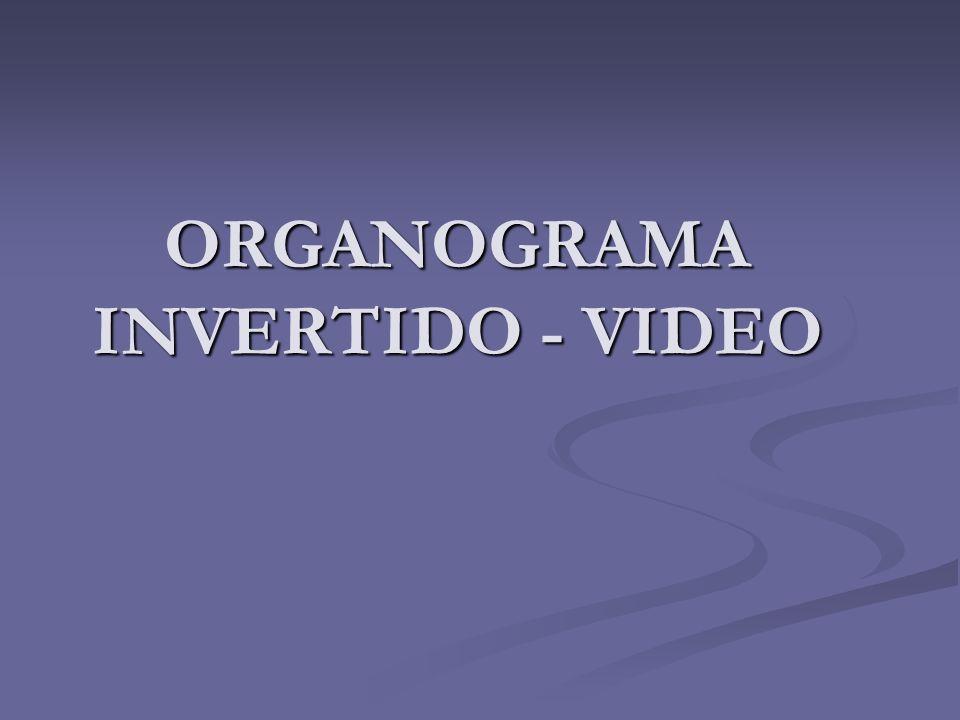 ORGANOGRAMA INVERTIDO - VIDEO