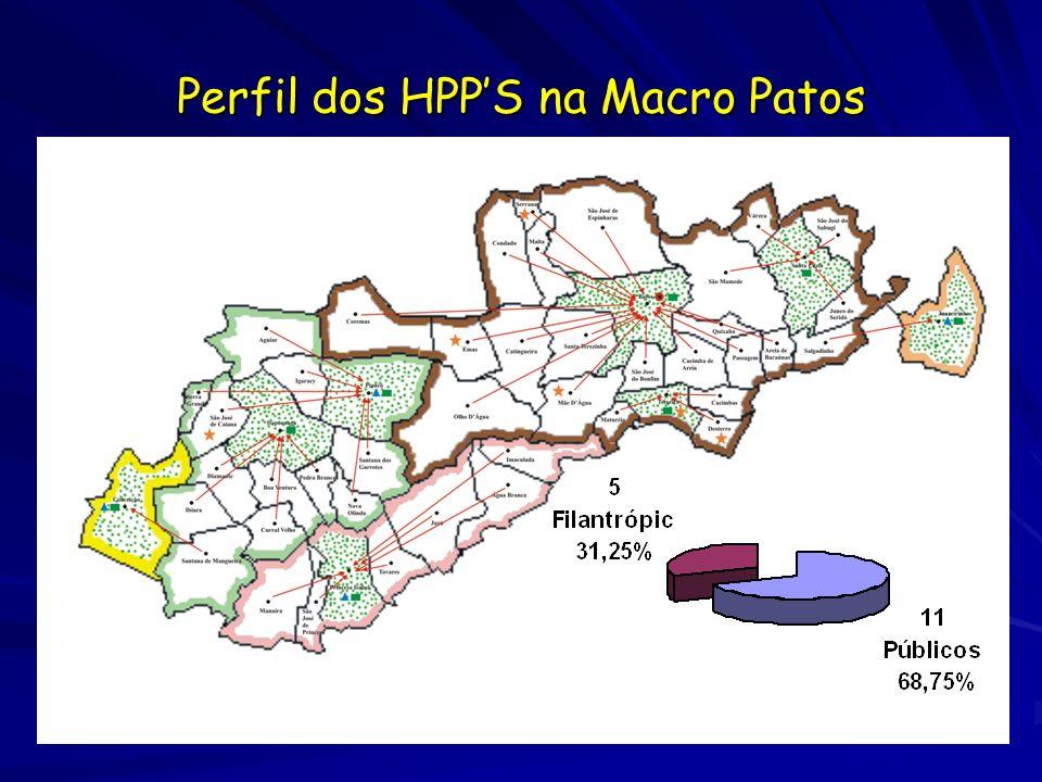 Perfil dos HPPS na Macro Patos