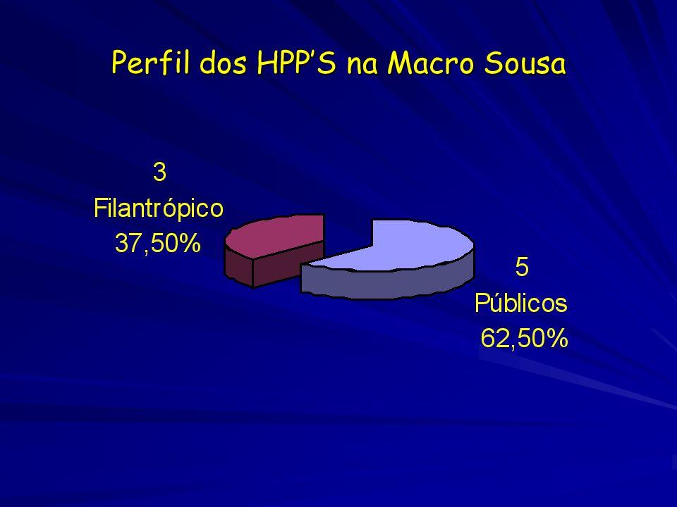 Perfil dos HPPS na Macro Sousa