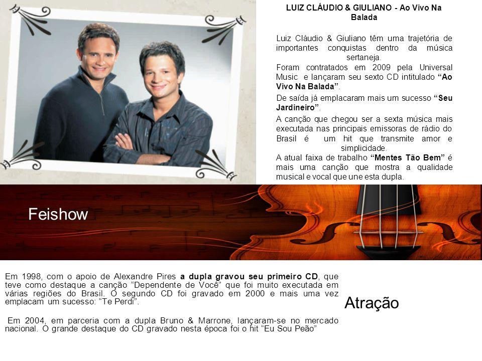 Em 1998, com o apoio de Alexandre Pires a dupla gravou seu primeiro CD, que teve como destaque a canção Dependente de Você que foi muito executada em várias regiões do Brasil.