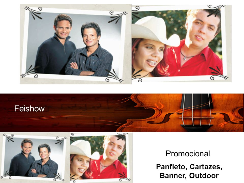 Feishow Promocional Panfleto, Cartazes, Banner, Outdoor