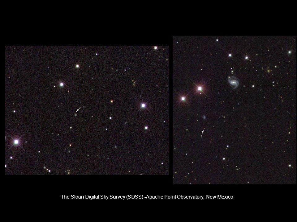 The Sloan Digital Sky Survey (SDSS) -Apache Point Observatory, New Mexico