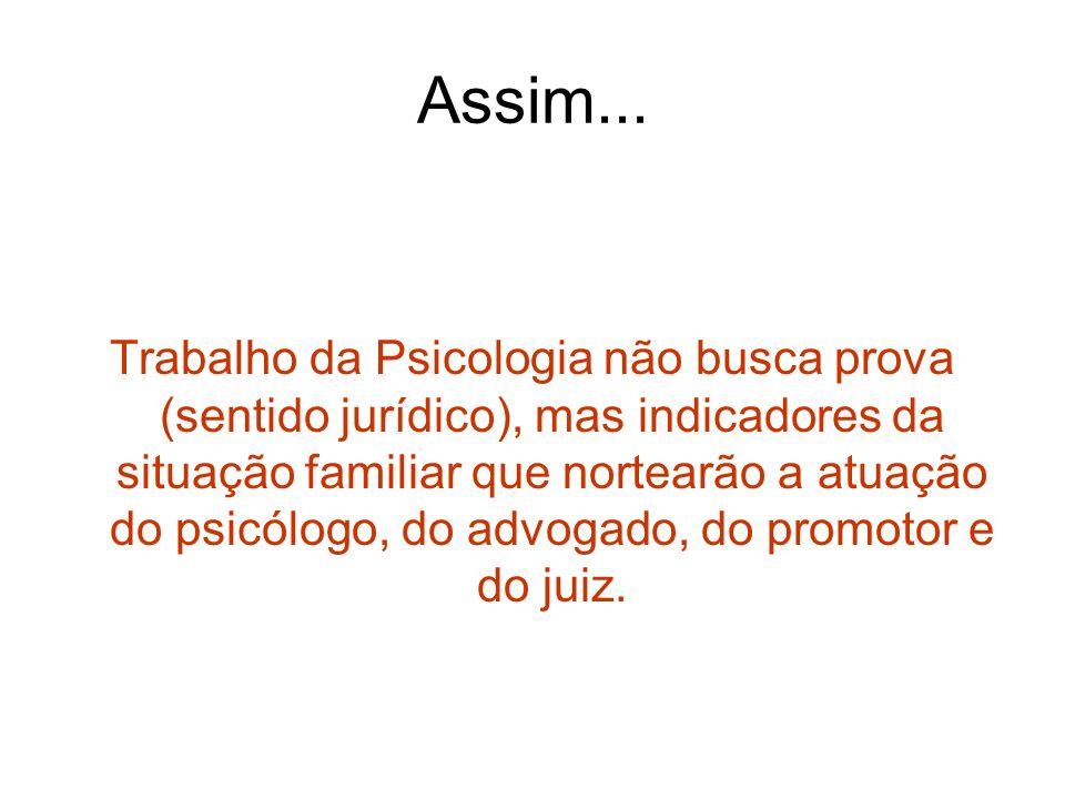 Psicologia Forense ou Jurídica.