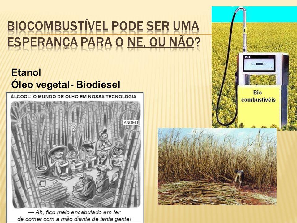 Etanol Óleo vegetal- Biodiesel
