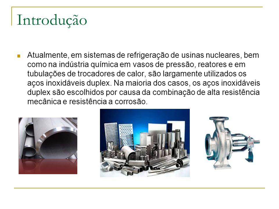 Introdução Atualmente, em sistemas de refrigeração de usinas nucleares, bem como na indústria química em vasos de pressão, reatores e em tubulações de