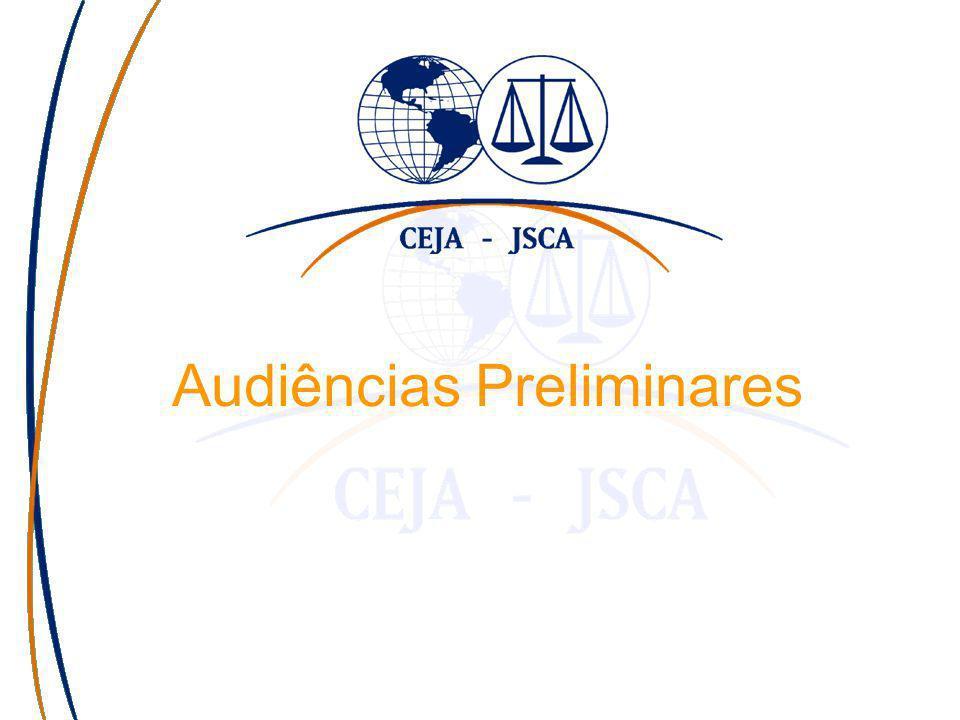 Audiências Preliminares