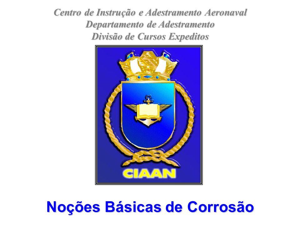 Centro de Instrução e Adestramento Aeronaval Departamento de Adestramento Divisão de Cursos Expeditos Noções Básicas de Corrosão