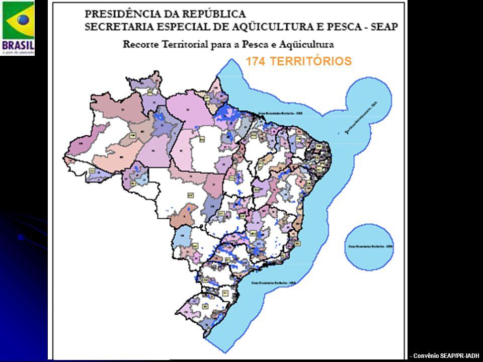 PAULO CESAR ARNS - Convênio SEAP/PR-IADH 174 TERRITÓRIOS