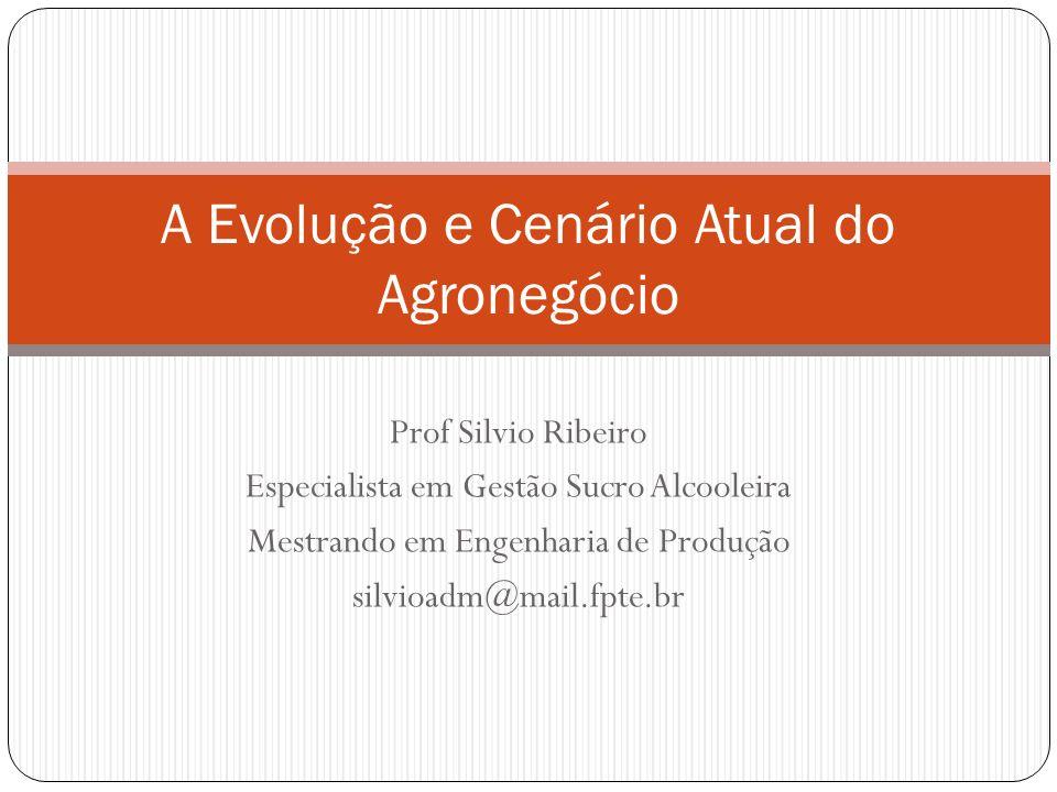 PERSPECTIVAS PARA O AGRONEGÓCIO BRASILEIRO O agronegócio é o maior negócio mundial e brasileiro.