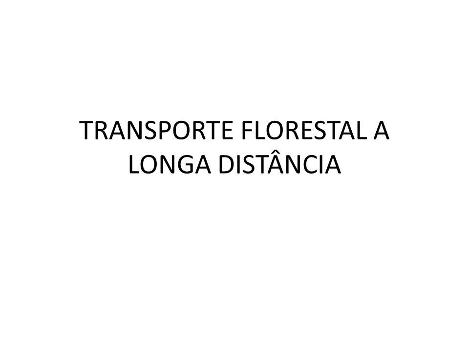 INTRODUÇÃO/HISTÓRICO O transporte florestal consiste na movimentação de madeira de um pátio de estocagem ou da margem da estrada a De acordo com a história, três métodos de transporte florestal predominavam: o fluvial, o rodoviário e o ferroviário.