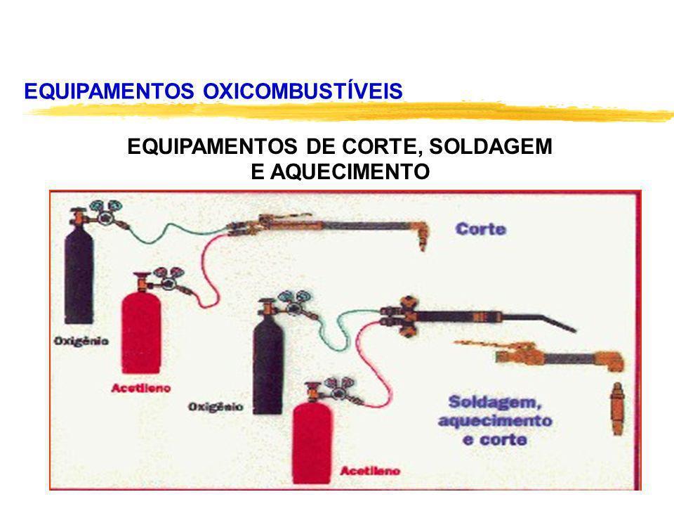 EQUIPAMENTOS OXICOMBUSTÍVEIS EQUIPAMENTOS DE CORTE, SOLDAGEM E AQUECIMENTO
