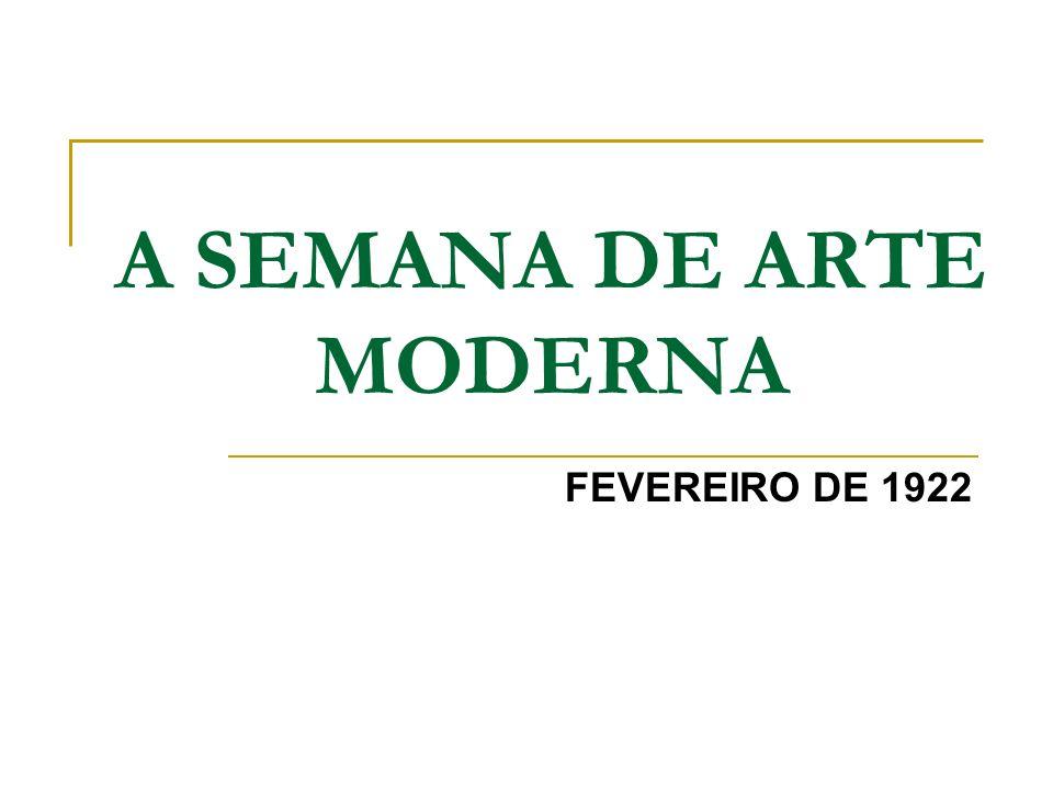 A Revista (1925-1926) Responsável pela divulgação dos ideais modernistas em MG.