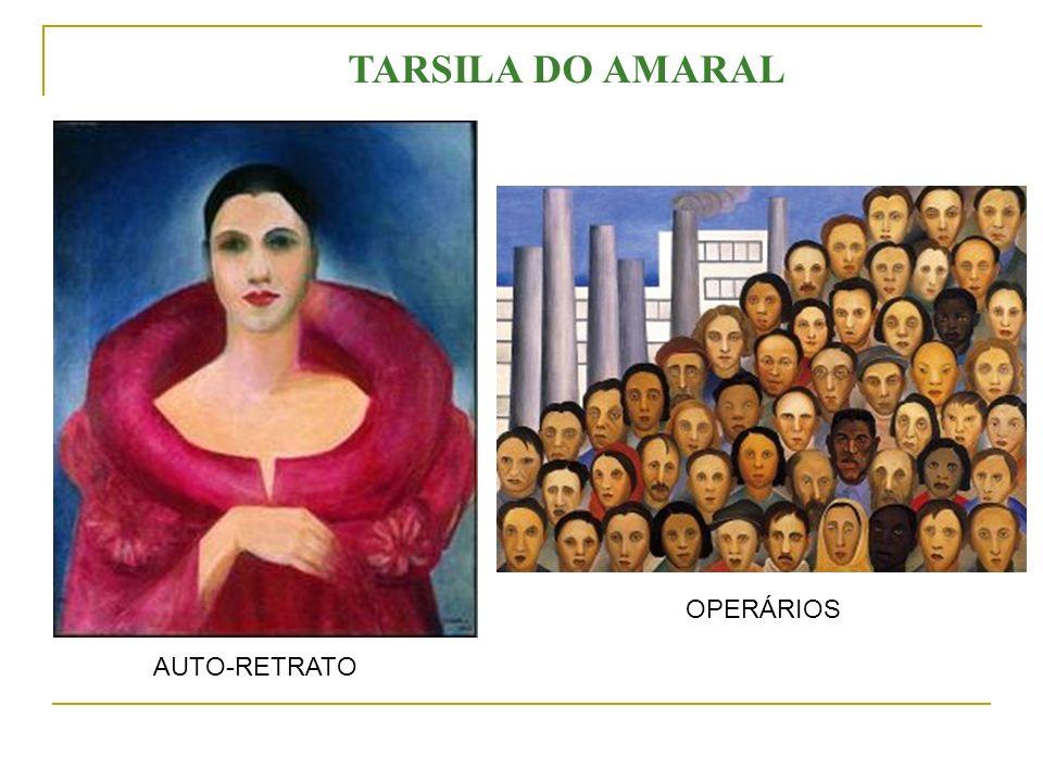 AUTO-RETRATO OPERÁRIOS TARSILA DO AMARAL