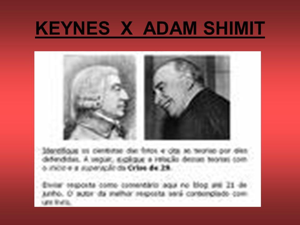 KEYNES X ADAM SHIMIT