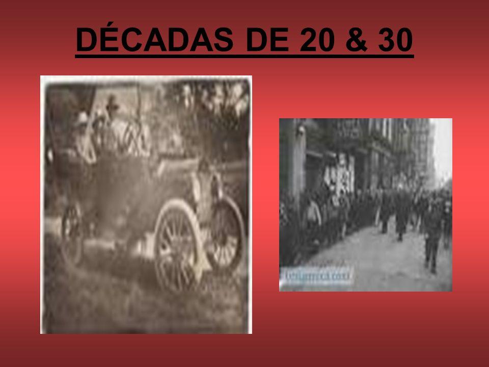 DÉCADAS DE 20 & 30