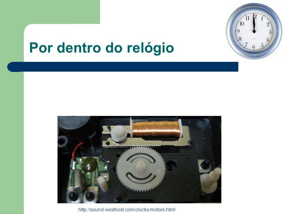 Por dentro do relógio http://sound.westhost.com/clocks/motors.html