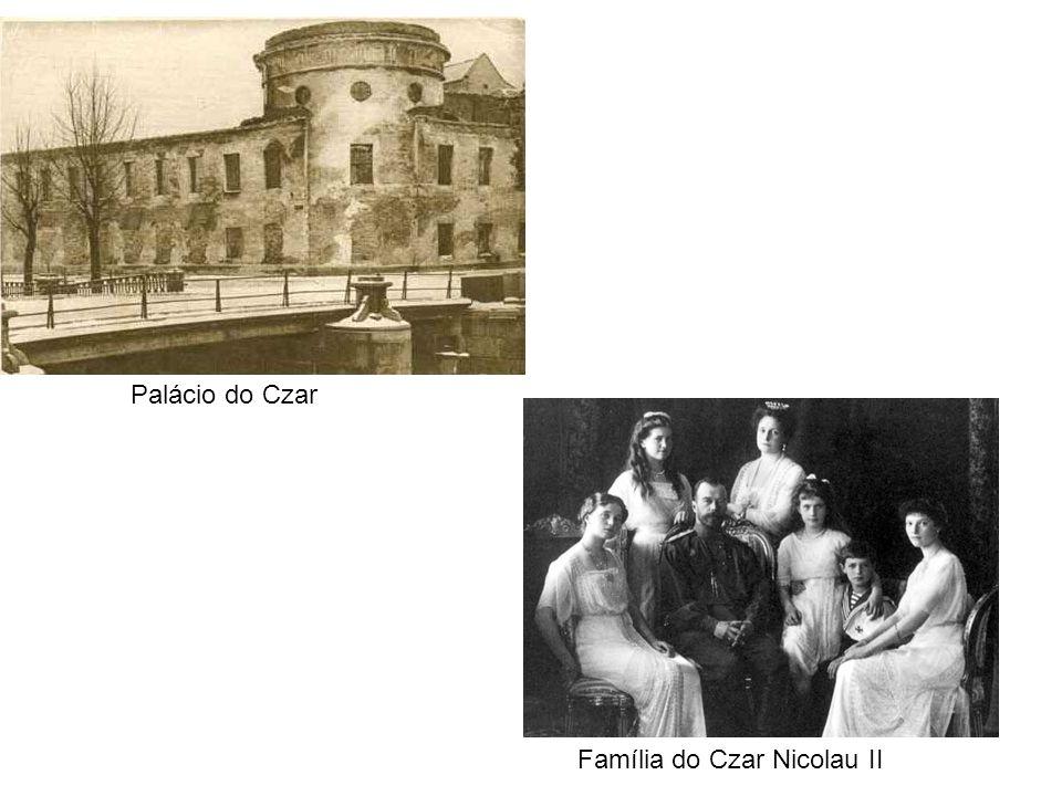 Palácio do Czar Família do Czar Nicolau II