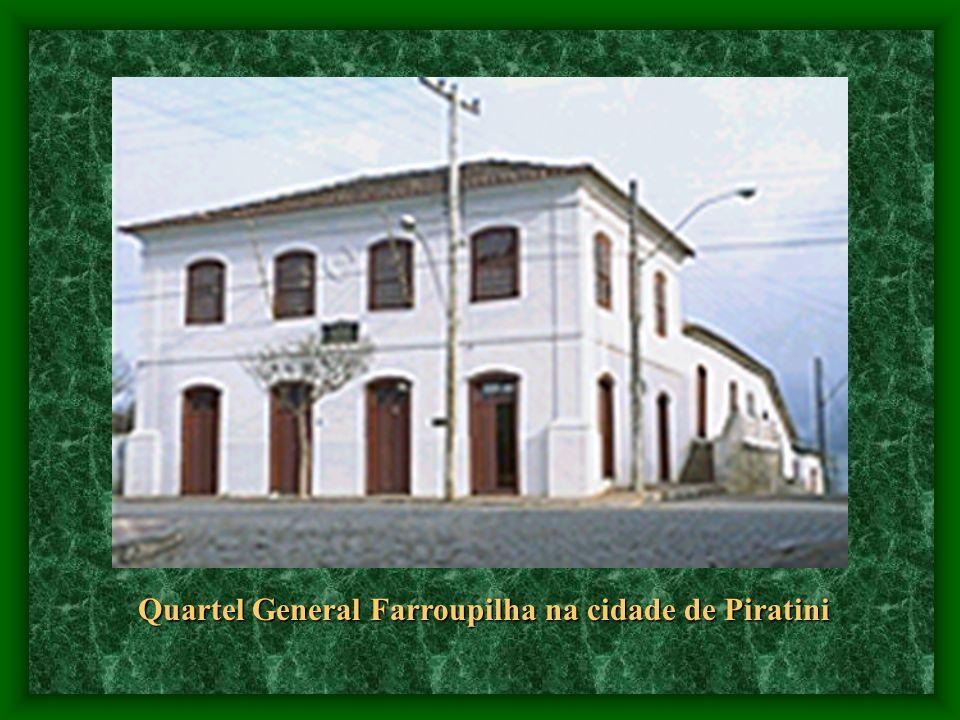 Quartel General Farroupilha na cidade de Piratini