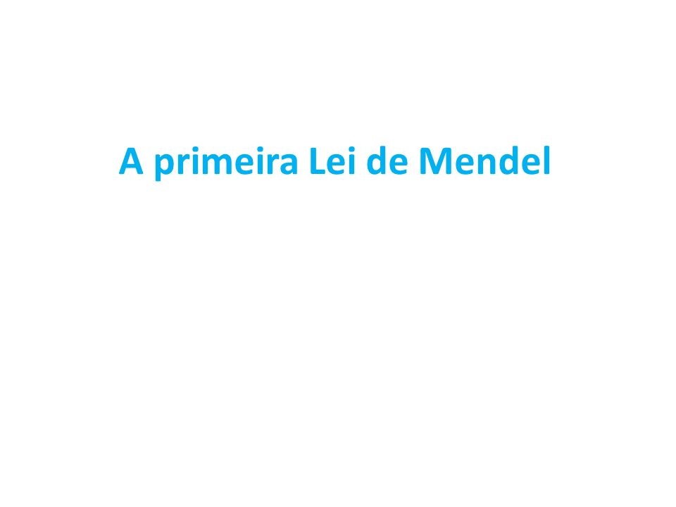 Gregor Mendel, um monge austríaco (séc.