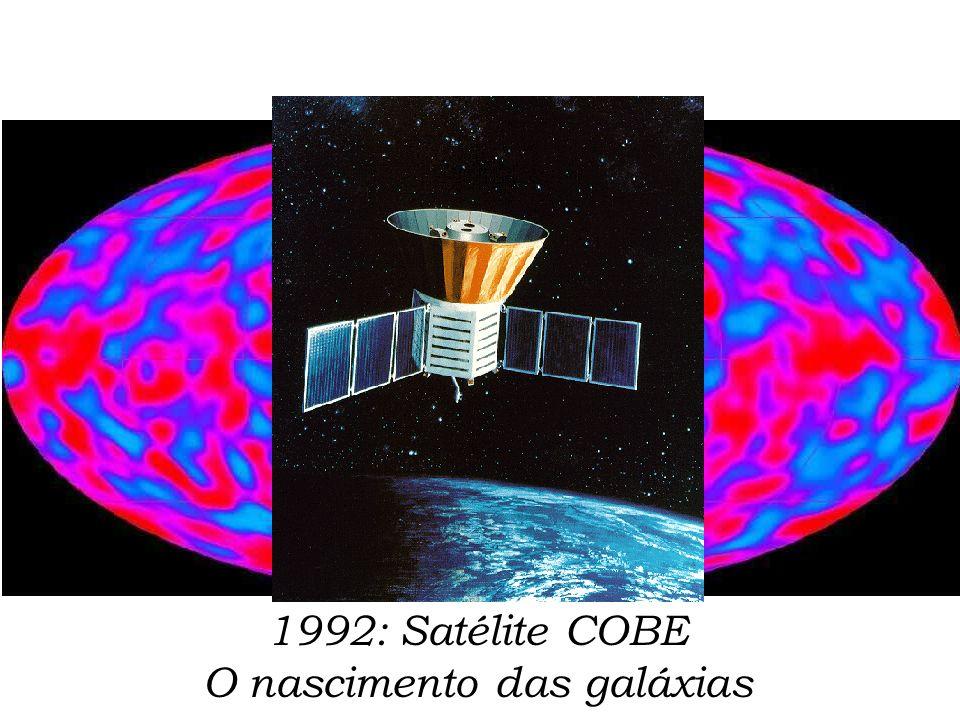 1992: Satélite COBE O nascimento das galáxias
