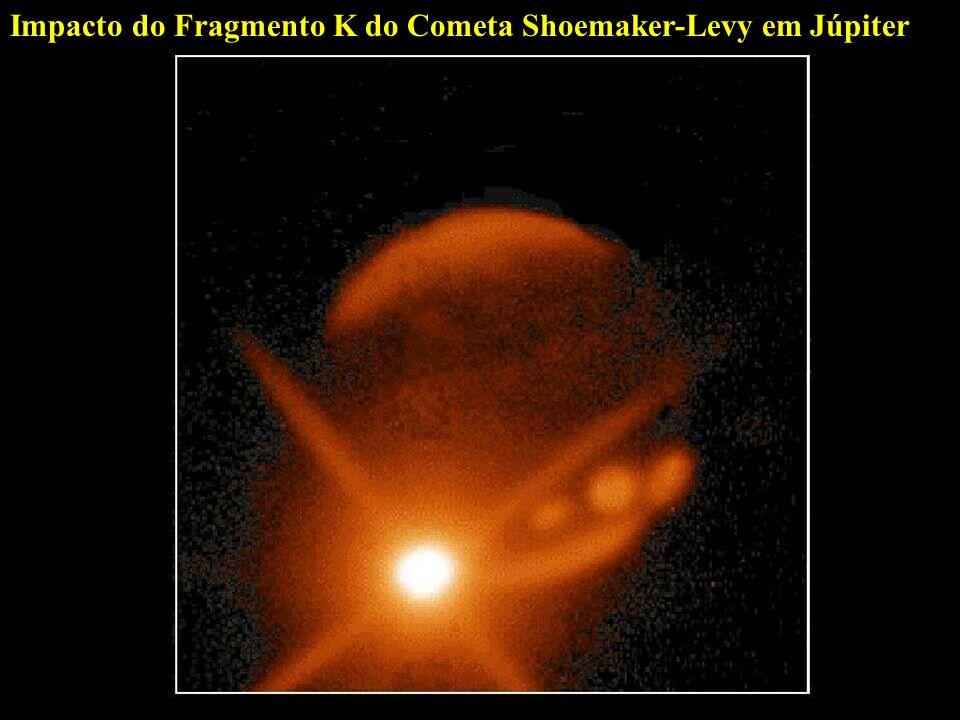 Impacto do Fragmento K do Cometa Shoemaker-Levy em Júpiter