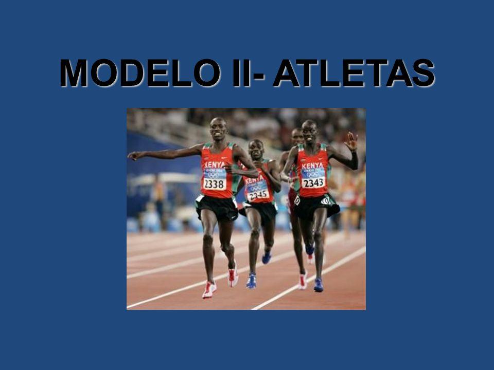 MODELO II- ATLETAS
