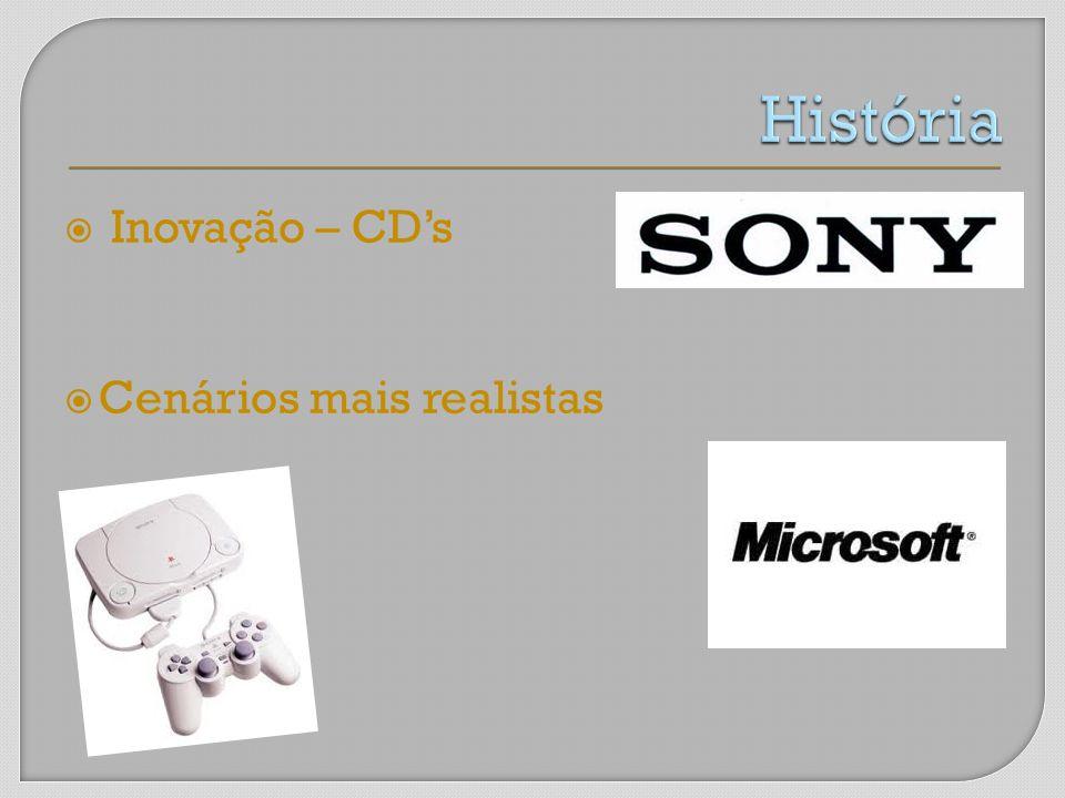 Inovação – CDs Cenários mais realistas
