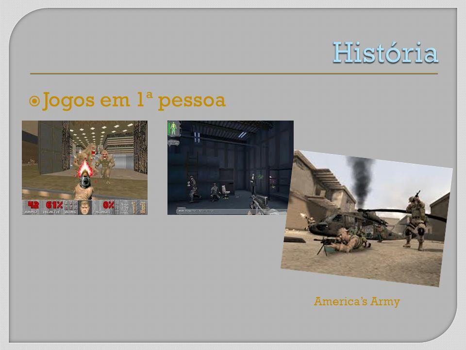 Jogos em 1ª pessoa Americas Army