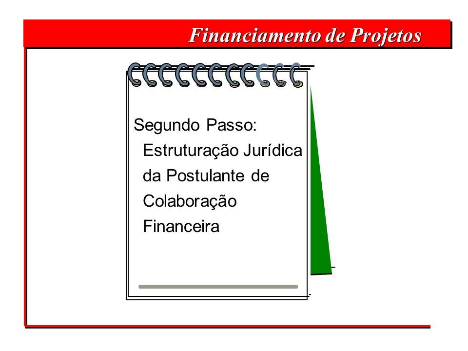 Financiamento de Projetos Segundo Passo: Estruturação Jurídica da Postulante de Colaboração Financeira