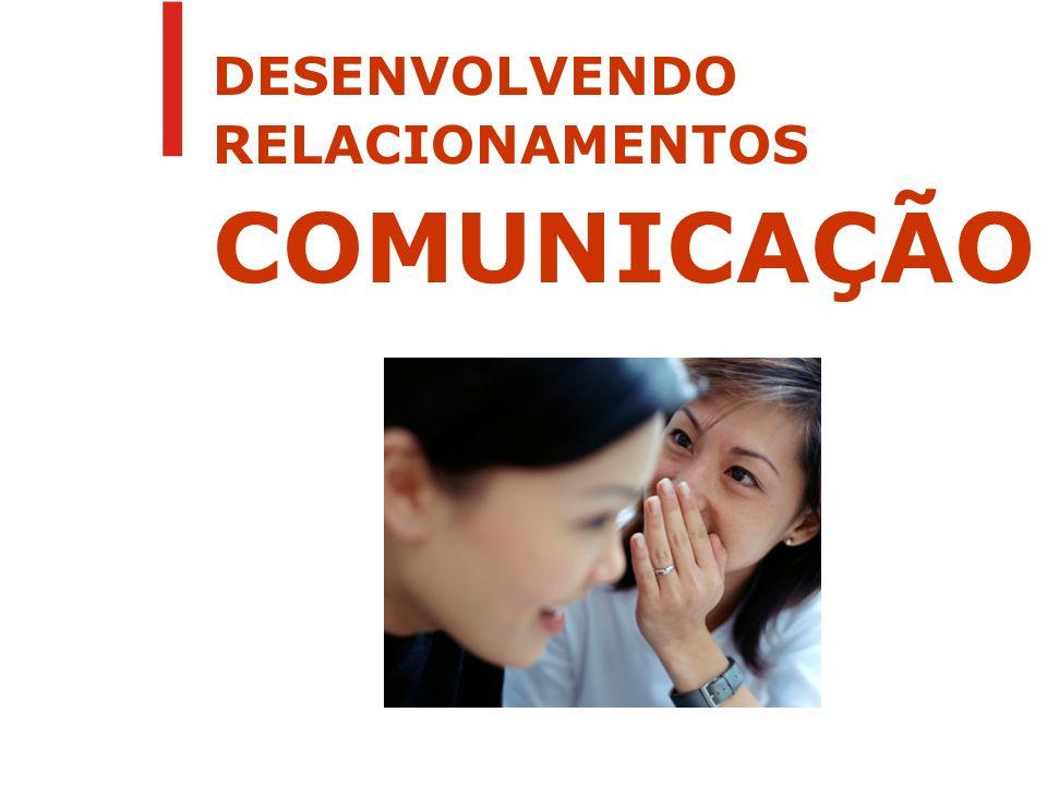 DESENVOLVENDO RELACIONAMENTOS COMUNICAÇÃO