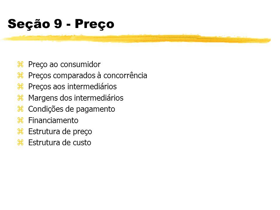 Seção 10 - Promoção (Comunicação) zPúblico-alvo zPropaganda zPublicidade zRelações públicas zPromoção de vendas zMerchandising zMarketing direto zProgramas de incentivo zVenda pessoal zEndomarketing