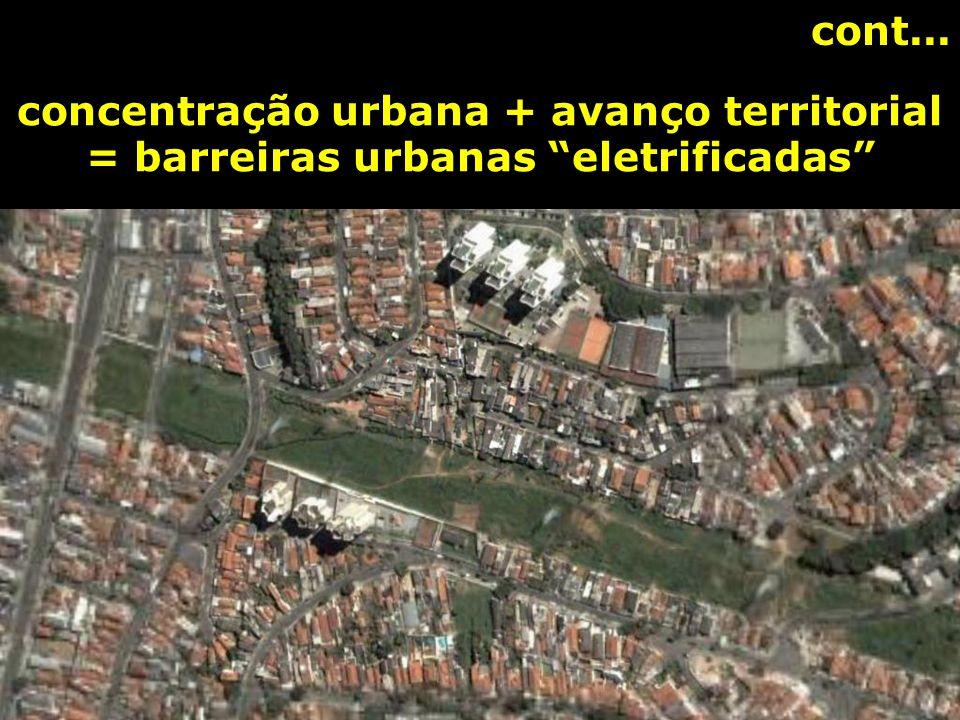 CONFLITA COM A PAISAGEM URBANA: - arborização urbana - posteamento e fiação - ligações individualizadas aéreas - vandalismo e acidentes
