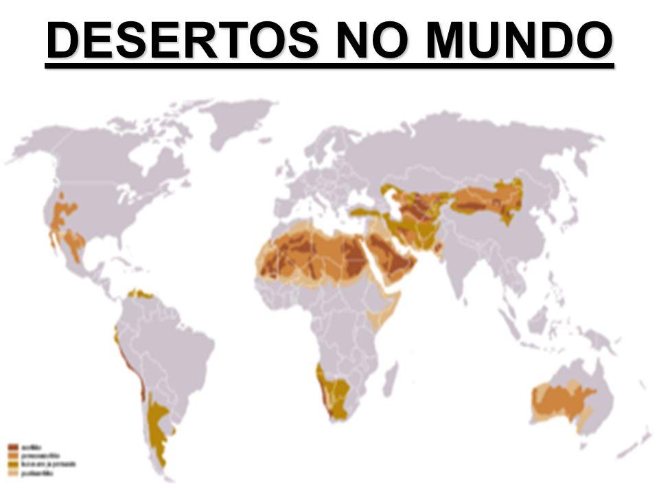 DESERTOS NO MUNDO