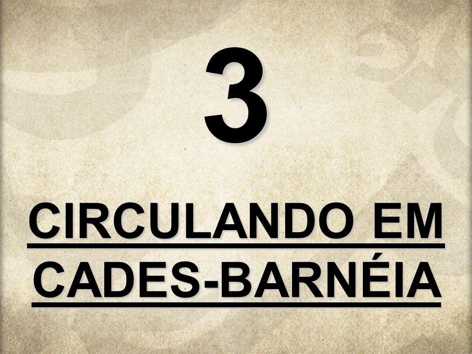CIRCULANDO EM CADES-BARNÉIA 3