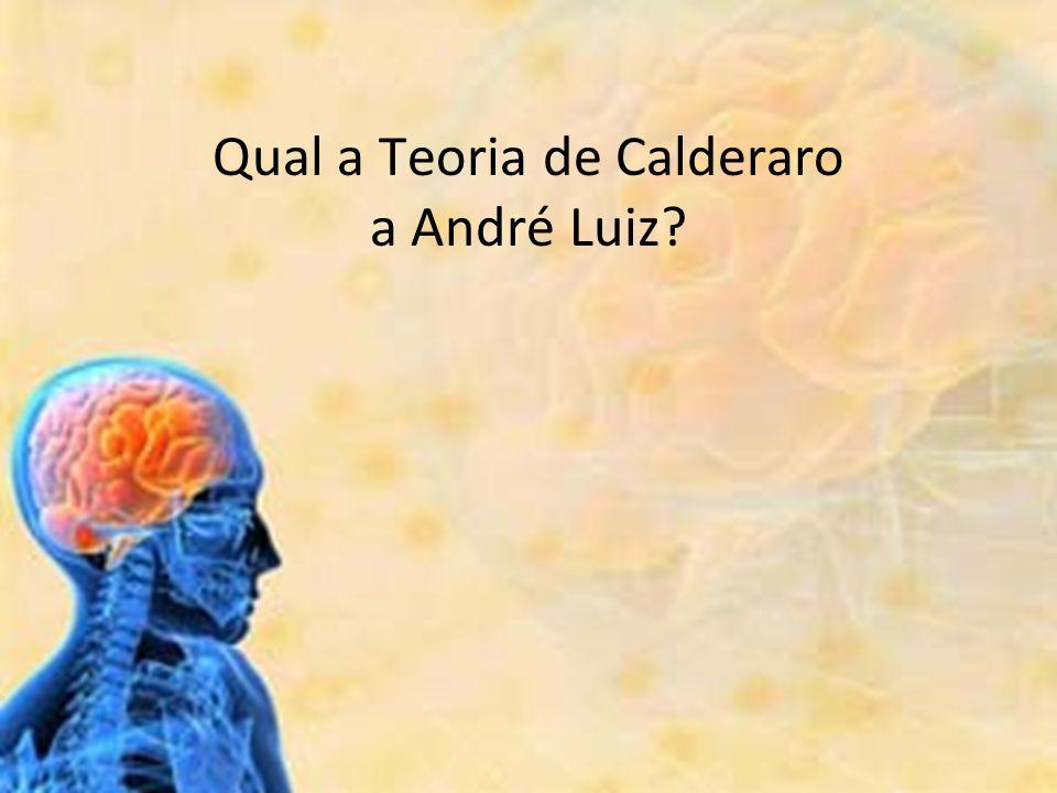 Qual a Teoria de Calderaro a André Luiz?