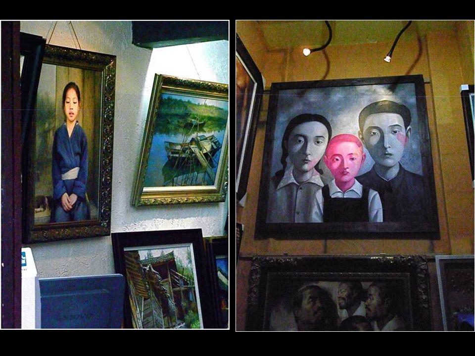 Filho de uma professora de arte, começou a pintar quadros encomendados por milionários europeus. No início, ele levava dois dias para pintar um quadro