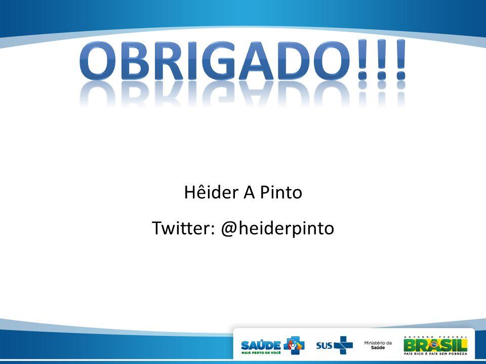 Hêider A Pinto Twitter: @heiderpinto