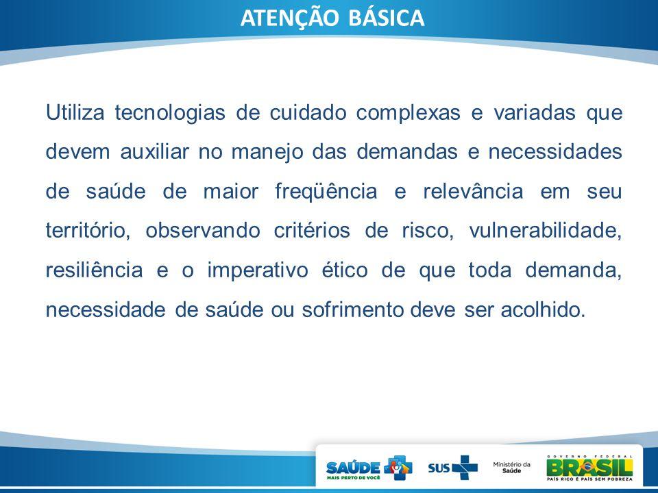 Desafios que Condicionam o Desenvolvimento da Atenção Básica Atenção Básica