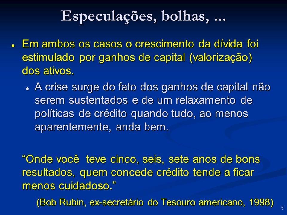 46 Impactos no Brasil Securitização no Brasil Recebíveis imobiiários.