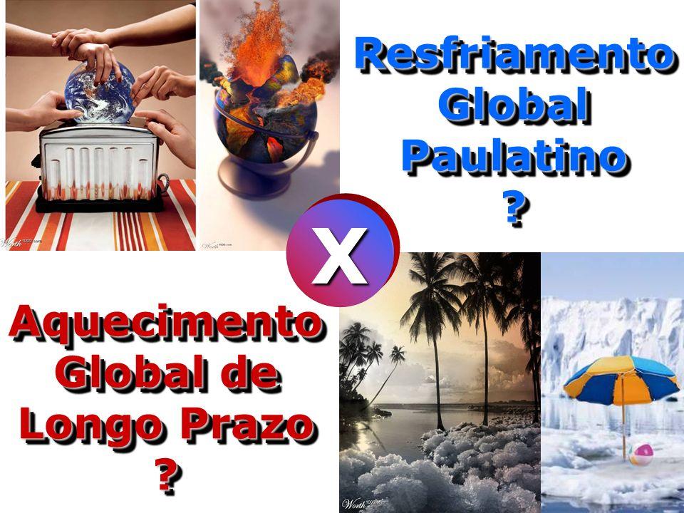 Resfriamento Global Paulatino ? X Aquecimento Global de Longo Prazo ?
