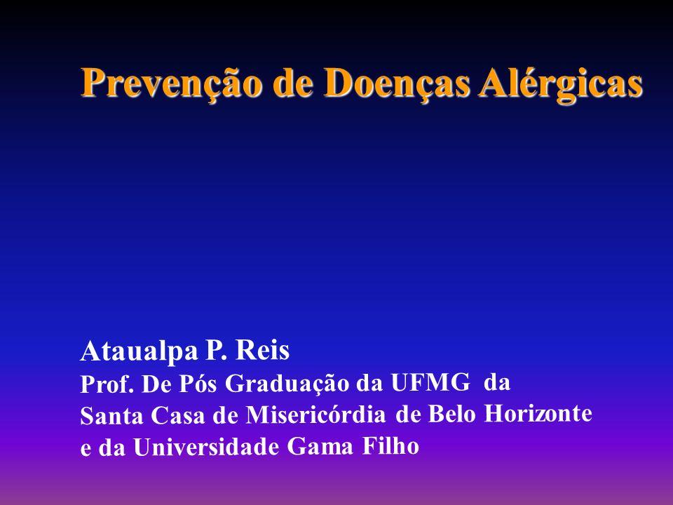 Prevenção de Doenças Alérgicas Ataualpa P.Reis Prof.