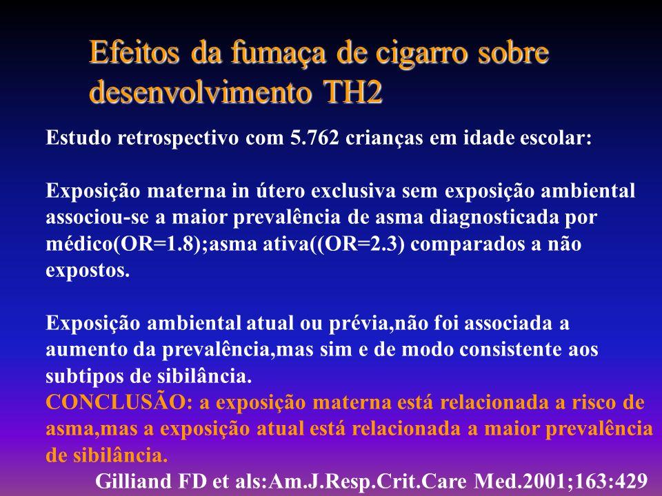Cruber EC et als Pediatrics 111(3):282-88, 2003