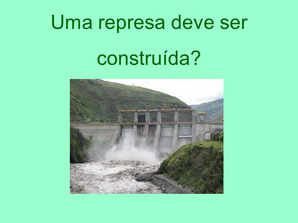 Uma represa deve ser construída?